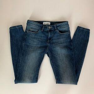 "DL1961 ""florence"" Instasculpt Skinny Jeans Sz 24"